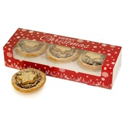 Festive Tigernut Pastry Mince Pies - Box of 6 (300g)   Not like any other Mince Pies!