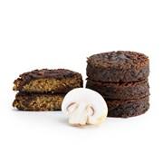 Organic MuQi Gluten-Free Vegan Mushroom & Quinoa Burgers