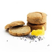 Organic Gluten-Free Vegan Lemon & Lavender Scones Bag of 6 | with organic lemon