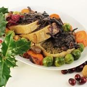 Organic MuQi Wellington Vegan Gluten-Free Christmas Bake 650g