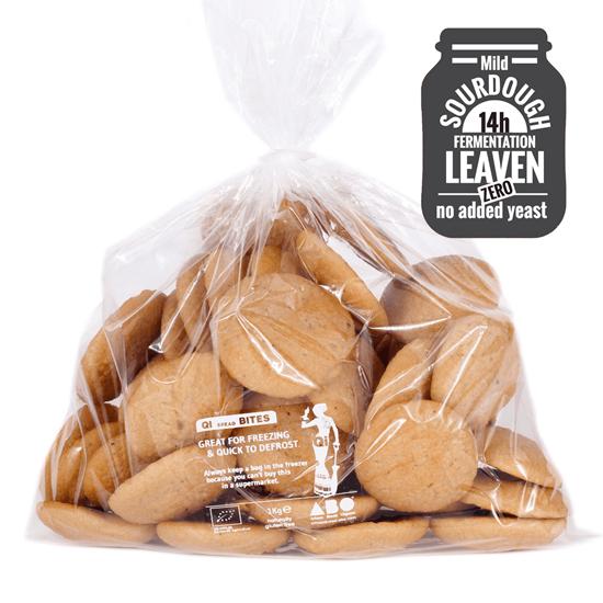 Organic Gluten-Free 97% Quinoa Bread Bites 1kg