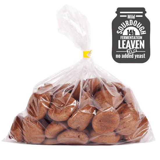 Organic Gluten-Free Linseed Bread Bites