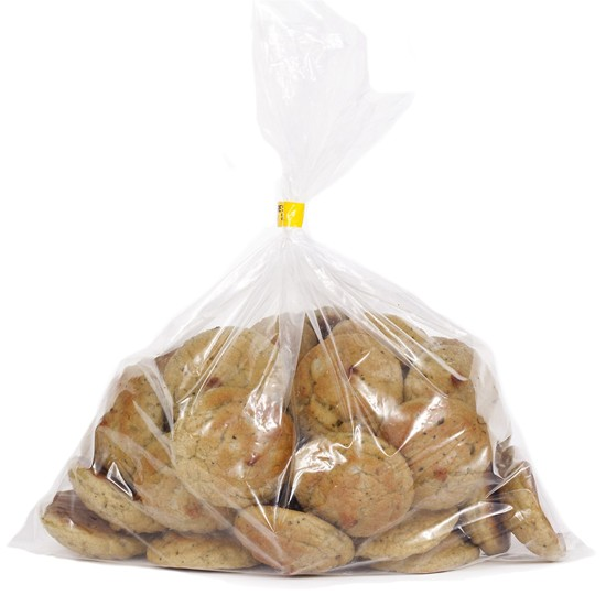 Organic Gluten-Free Pea Bread Bites