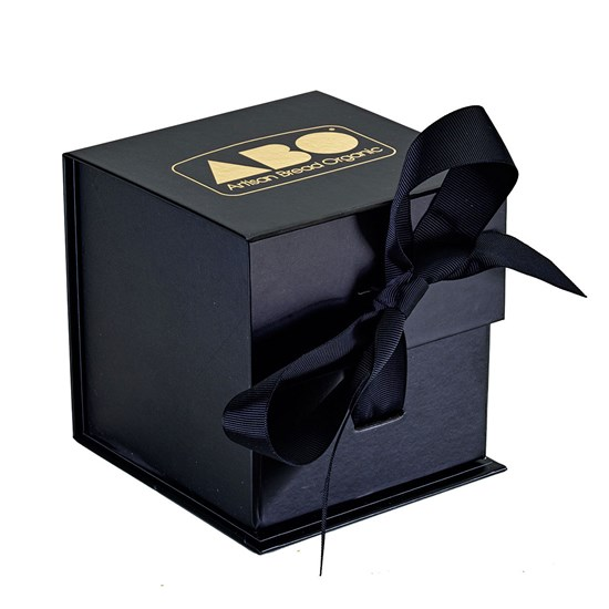 Presentation Box - Black with gold embossed ABO logo