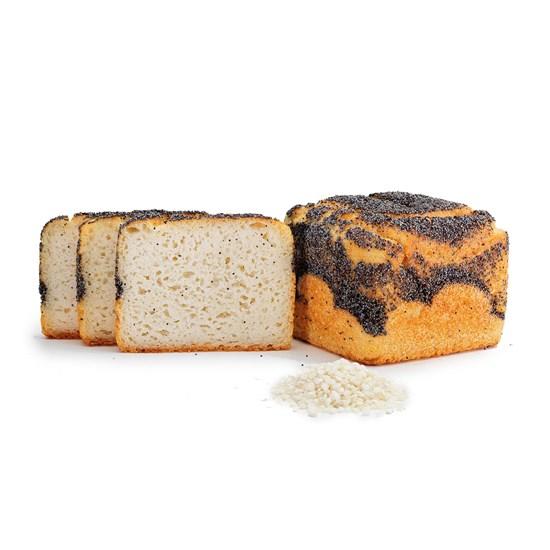 Organic Gluten-Free Poppy White Toastie Bread 385g