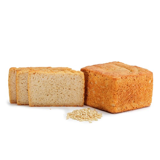 Organic Gluten-Free Rice Bread Loaf 385g