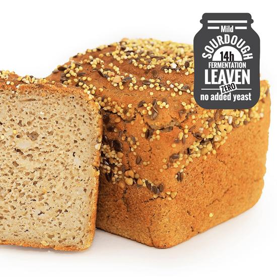 Organic Gluten-Free Buckwheat 3 Grain Bread Loaf 390g