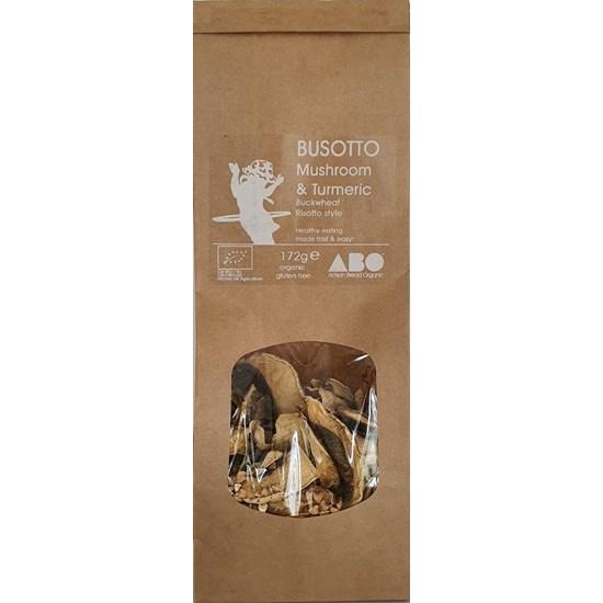 Organic Mushroom & Turmeric BUSOTTO - Buckwheat Risotto Style 172g