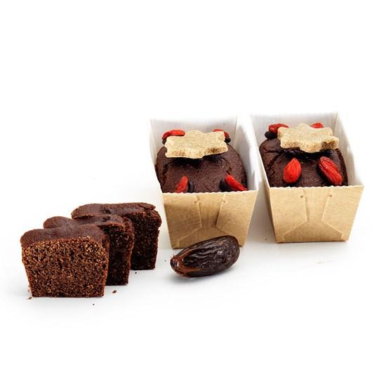 Organic Gluten-Free Vegan Miracle Mini Christmas Cakes 190g (2)