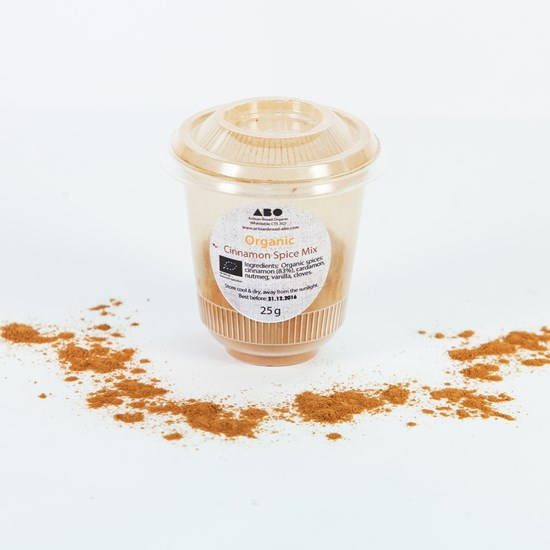 Organic Cinnamon & Spice Mix 20g