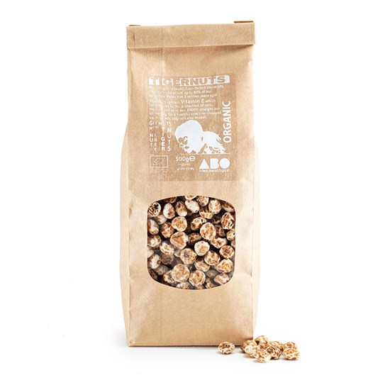 Organic Gluten-Free Tigernuts Whole 500g