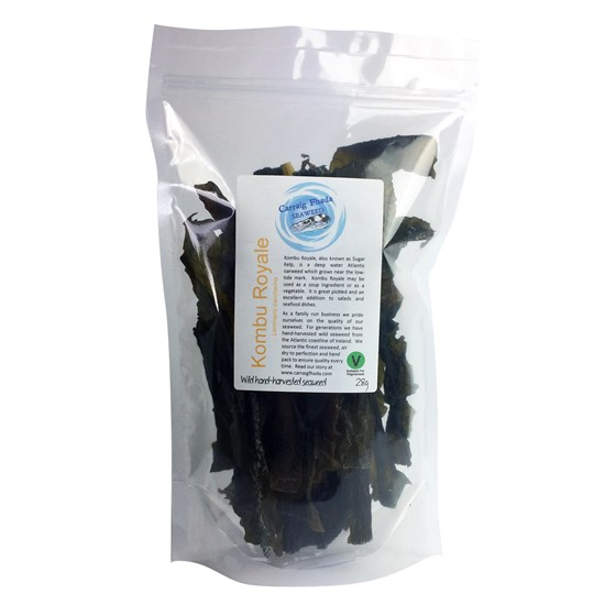 Kombu Royale / Sugar Kelp Irish Seaweed 28g