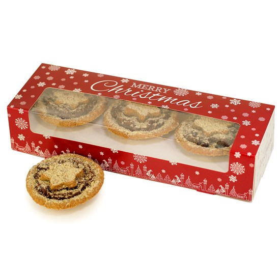 Festive Tigernut Pastry Mince Pies - Box of 6 (300g)