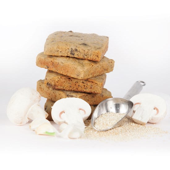Organic Gluten-Free Mushroom & Quinoa Snack