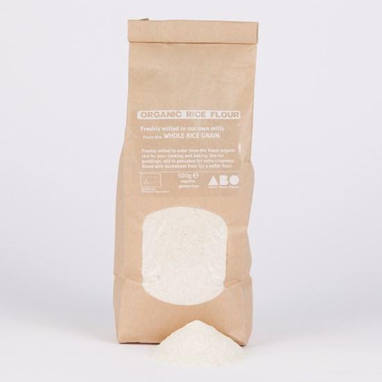 Freshly Milled Organic Gluten-Free Rice Flour