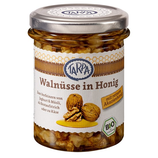 Tarpa Organic Walnuts in Acacia Honey