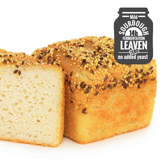 Organic Gluten-Free 3 Grain Toastie White Bread 385g
