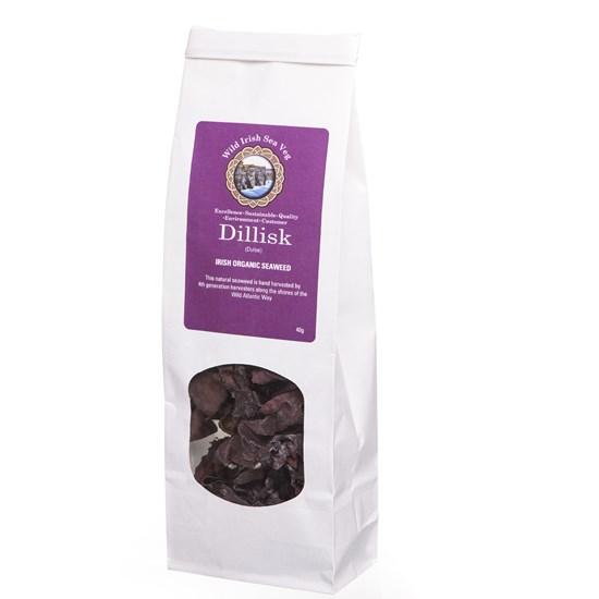 Organic Dillisk (Dulse) - the Vegan 'Bacon' Irish Seaweed 40g
