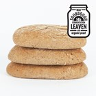 Organic Gluten-Free Rye Style Rolls Large (Buckwheat) Bag of 3