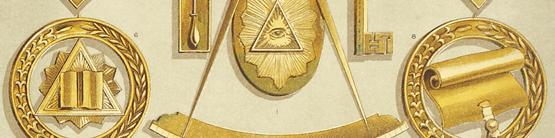 A Collection of Freemasonry Collectibles and Regalia Sale #298/2018