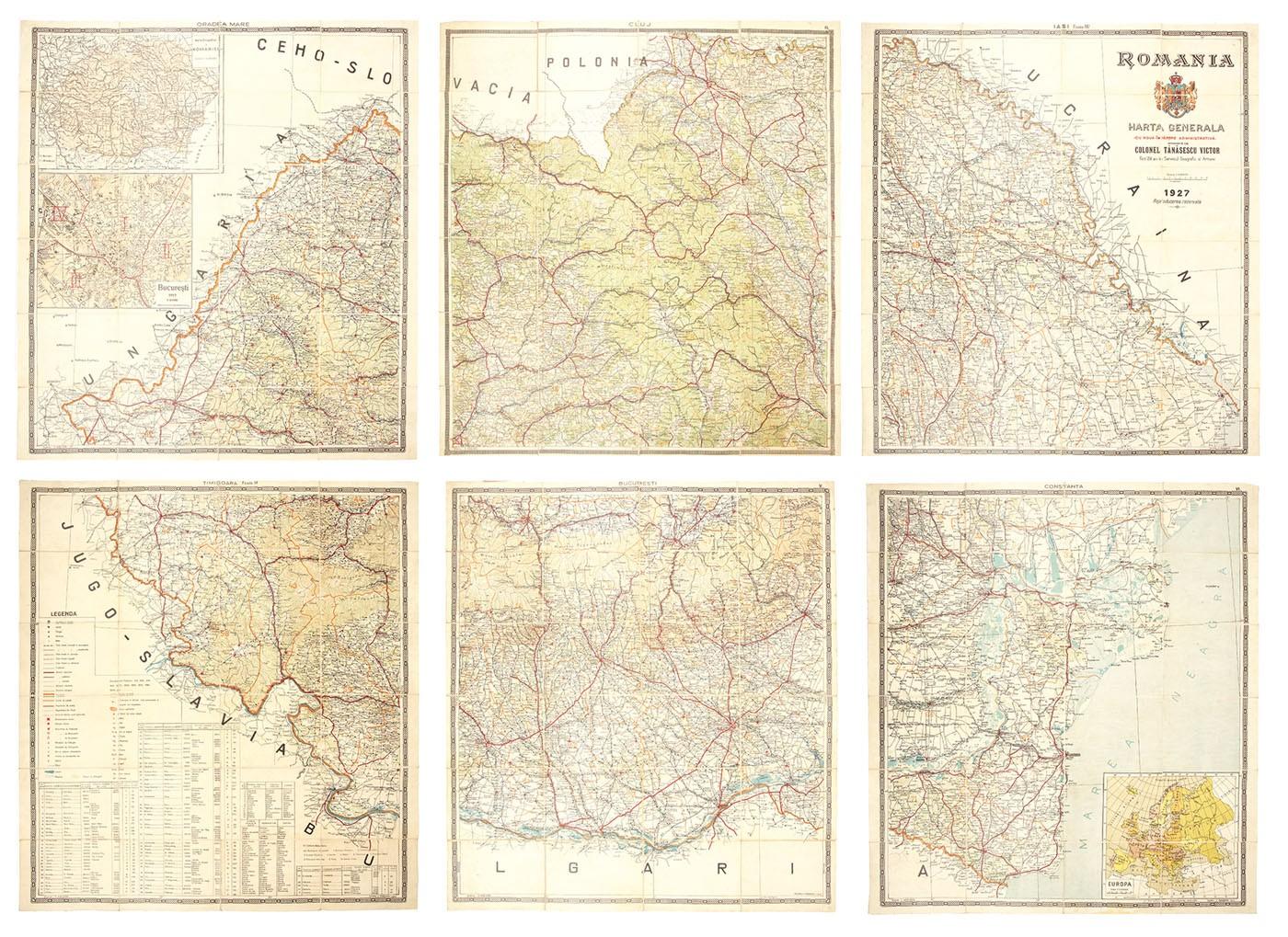 Harta Generală A Romaniei Cu Noua Impărțire Administrativă De