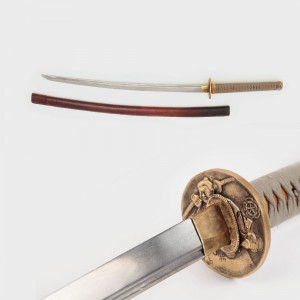 Katana (sabie japoneză), cu teacă, mijlocul sec. XIX