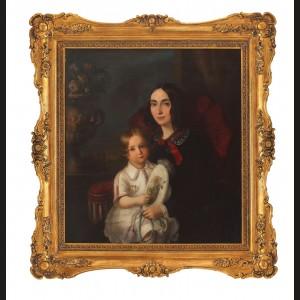 Vorniceasa Anica Manu și Dimitrie, fiul ei
