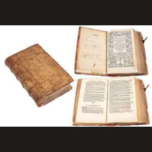 """Martin Luther, """"Tomus Primus Omnium Operum"""", 1550; raritate extremă"""