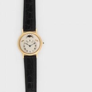 Excepțional ceas Breguet, de mână, bărbătesc, din aur, cu armare manuală