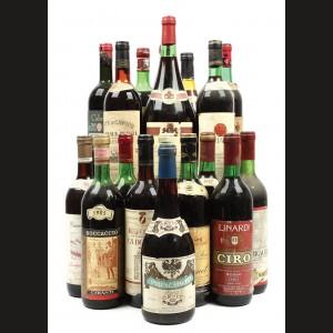 Italia anilor '80, selecție de 18 vinuri roșii italienești
