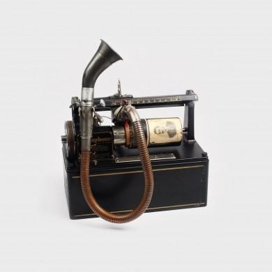 Aparat de dictat Dictaphone, cu cilindru de ceară, anii '20