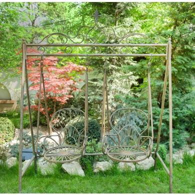 Leagăn pentru grădină, cu două locuri