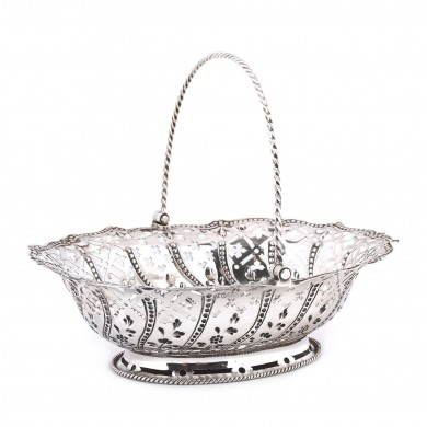 Coșuleț din argint, cca. 1769
