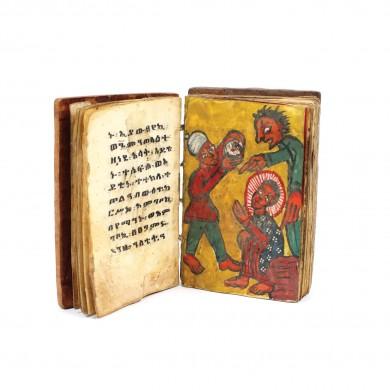 Carte de rugăciuni artizanală, Etiopia, sec. XVIII