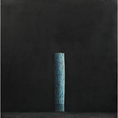 La colonne bleue