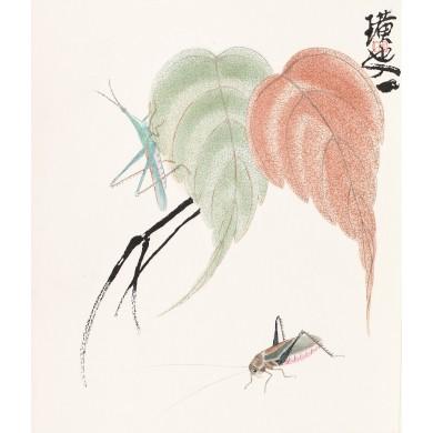 Insecte şi frunze