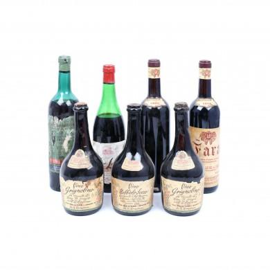 """Selecție de  7 vinuri italienești, anii """"50-""""60"""
