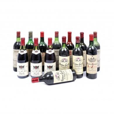 """Selecție de 14 vinuri de Bordeaux, anii """"50-""""70"""