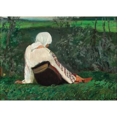 Țărăncuță odihnindu-se