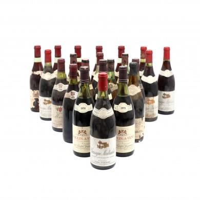 """Selecție de 22 vinuri de Burgundia, anii """"50-""""70"""
