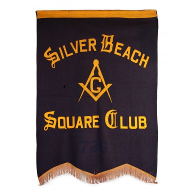 "Steag al lojei ""Silver Beach - Square Club"""