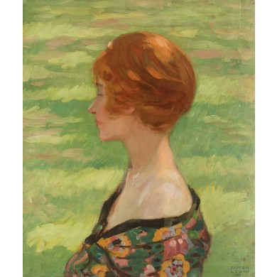 Hermina (Portretul soției artistului)