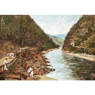 Țărani pe Valea Oltului