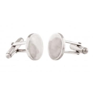Pereche de butoni Tiffany, din argint