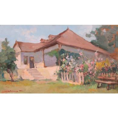 Casa pictorului de la Siliștea