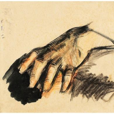 Studiu de mână (Enescu)