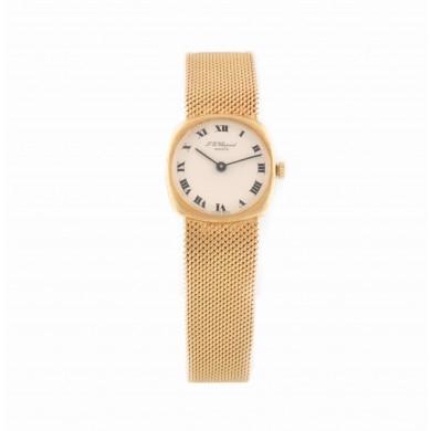 Ceas Chopard, de mână, de damă, din aur, în cutie originală, cu certificat de autenticitate