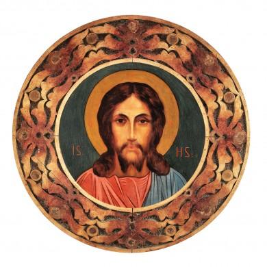 "Icoană, ""Iisus Hristos"", cca. 1900"
