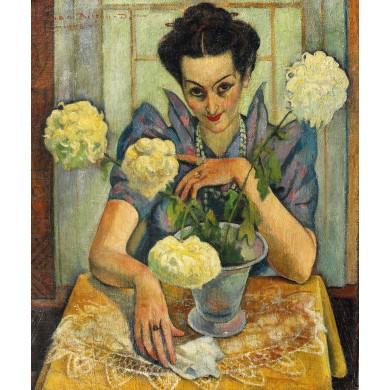 Portretul soției artistului