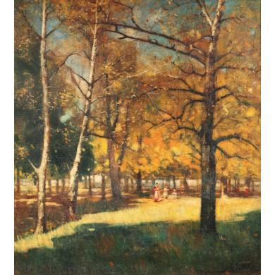 După-amiază în parc